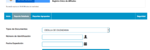 RUAF: Consultar afiliación a EPS, pensión y cesantías
