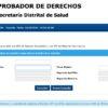 Comprobador de derechos: Consulta EPS en línea