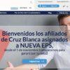 Nueva EPS: Citas en línea y certificado de afiliación