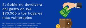 Conozca si es beneficiario a la Devolución de IVA en línea